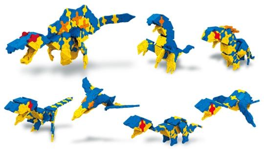 โมเดลต่างๆ ของตัวต่อลาคิว LaQ Spinosaurus ไดโนเสาร์ สปิโนซอรัส