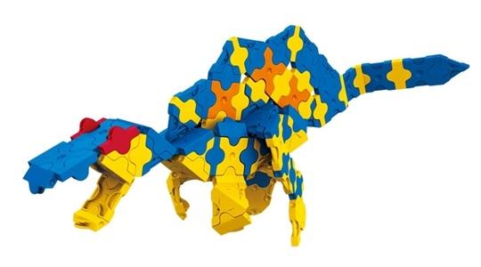 โมเดลไดโนเสาร์แบบที่ 1 ของตัวต่อลาคิว ชุด สปิโนซอรัส LaQ Spinosaurus