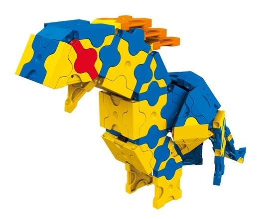 โมเดลไดโนเสาร์แบบที่ 3 ของตัวต่อลาคิว ชุด สปิโนซอรัส LaQ Spinosaurus
