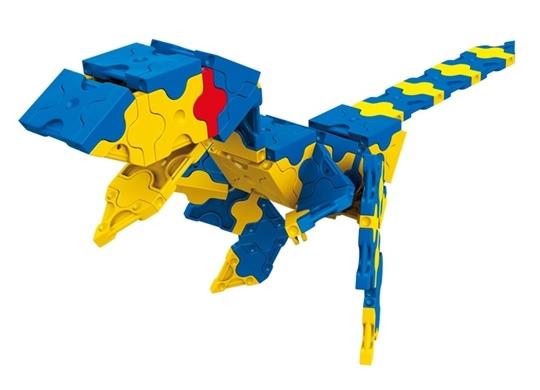 โมเดลไดโนเสาร์แบบที่ 4 ของตัวต่อลาคิว ชุด สปิโนซอรัส LaQ Spinosaurus