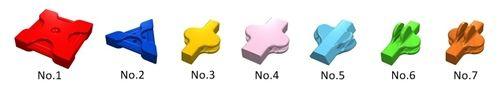 LaQ 7 shapes