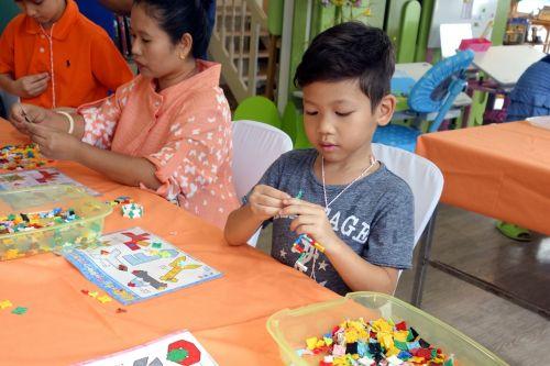กิจกรรม ของเล่น เสริมทักษะ ลาคิว LaQ Mini Workshop เสริมพัฒนากรสมอง เสริมทักษะ