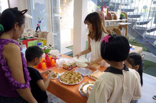 กิจกรรม ของเล่น เสริมทักษะ ลาคิว LaQ Mini Workshop เสริมพัฒนากรสมอง อาหารว่าง