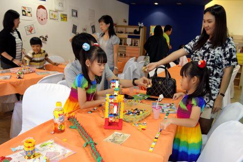 กิจกรรม ของเล่น เสริมทักษะ ลาคิว LaQ Mini Workshop เสริมพัฒนากรสมอง กล้ามเนื้อมัดเล็ก