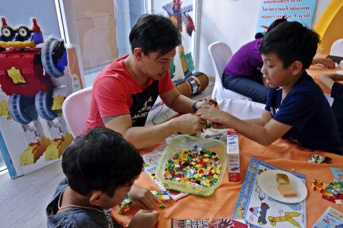 กิจกรรม ของเล่น เสริมทักษะ ลาคิว LaQ Mini Workshop เสริมพัฒนากรสมอง