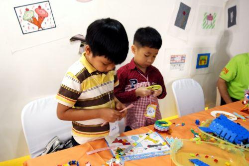 กิจกรรม ของเล่น เสริมทักษะ ลาคิว LaQ Mini Workshop เสริมพัฒนากรสมอง เสริมปัญญา