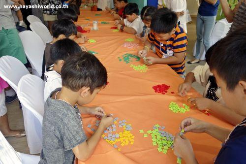 กิจกรรม ของเล่น เสริมทักษะ ลาคิว LaQ Mini Workshop เสริมพัฒนากรสมอง แข่งขัน สมอง
