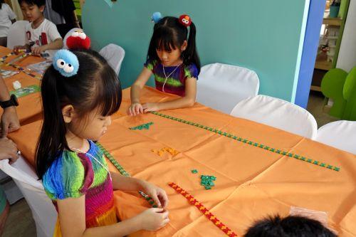กิจกรรม ของเล่น เสริมทักษะ ลาคิว LaQ Mini Workshop เสริมพัฒนากรสมอง ฝาแฝด