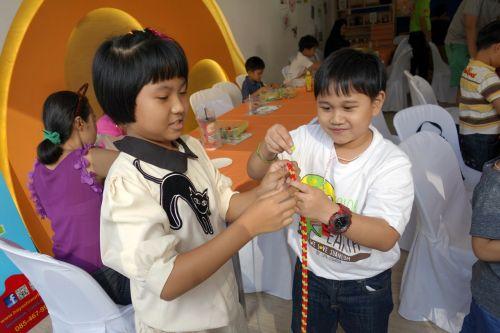 กิจกรรม ของเล่น เสริมทักษะ ลาคิว LaQ Mini Workshop เสริมพัฒนากรสมอง การเล่น toys