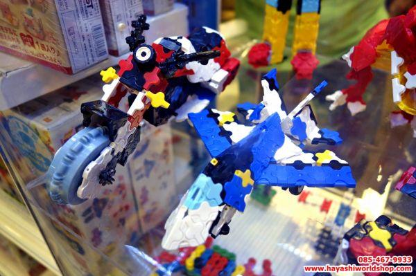 ตัวต่อเสริมทักษะลาคิวจากญี่ปุ่น ช่วยพัฒนา IQ, EQ เสริมสร้างความคิดสร้างสรรค์ และจินตนาการ จากญี่ปุ่น