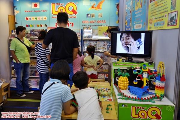 สัปดาห์หนังสือแห่งชาติ ฮายาชิเวิลด์ ตัวต่อลาคิว อโซบล็อค จิเอโบะ ของเล่นเสริมพัฒนาการเด็ก ญี่ปุ่น