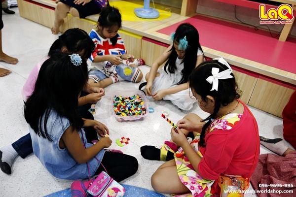 ลาคิว ตัวต่อลาคิว LaQ โรงเรียนอัสสัมชัญคอนแวนต์ สีลม ของเล่นเสริมพัฒนาการ ญี่ปุ่น