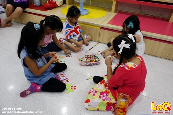 ตัวต่อลาคิว ลาคิว LaQ ฮายาชิเวิลด์ โรงเรียนอัสสัมชัญคอนแวนต์ สีลม ญี่ปุ่น ของเล่นเสริมพัฒนากร