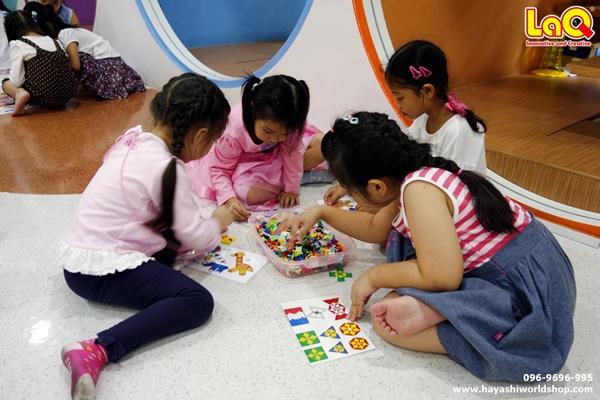 ลาคิว ตัวต่อลาคิว ฮายาชิเวิลด์ อัสสัมชัญคอนแวนต์สีลม ของเล่นญี่ปุ่น เสริมสร้าง IQ, EQ
