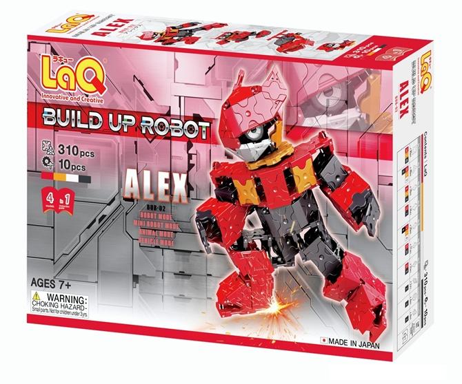 หุ่นยนต์ ลาคิว อเล็กซ์ สีแดง LaQ Hamacron robot Alex red พัฒนาสมอง กล้ามเนื้อมัดเล็ก