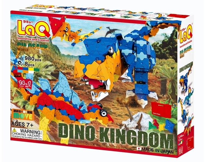 LaQ Dinosaur World Dino Kingdom ลาคิว ไดโนเสาร์ชุดใหญ่ จากญี่ปุ่น