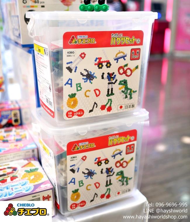 จิเอโบะ ตัวต่อเสริมพัฒนาเด็กจากญี่ปุ่น เหมาะสำหรับเด็ก 3 ขวบขึ้นไป