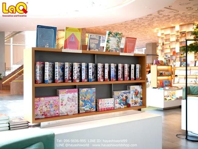 จุดวางจำหน่ายสินค้าตัวต่อเสริมทักษะ ลาคิว LaQ จากญี่ปุ่น อยู่บริเวณด้านหน้าทางเข้าร้าน Open House