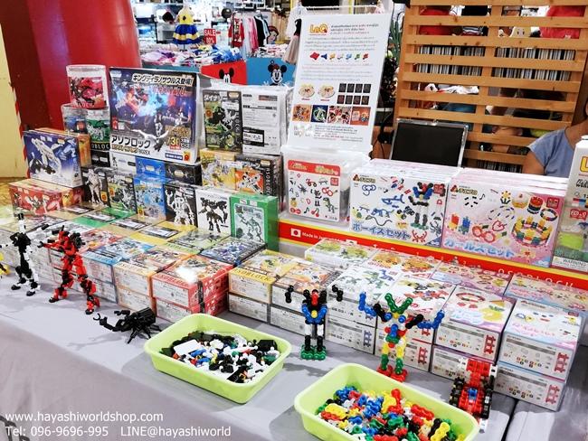 ฮายาชิเวิลด์ ได้นำสินค้าตัวต่ออโซบล็อค และตัวต่อจิเอโบะ ไปทำโปรโมชั่นพิเศษในงาน Baby & Kids Fair ที่ Terminal 21 ชั้น LG