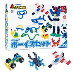 ตัวต่อจิเอโบะ ชุด Chieblo Boys Set 20AE จากญี่ปุ่น มีชิ้นส่วน 230 ชิ้น