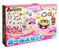 จิเอโบะ Chieblo GirlsSet ชุดเด็กผู้หญิง ตัวต่อ ของเล่น สื่อเสริมทักษะ เสริมพัฒนาการเด็กจากญี่ปุ่น เสริมสร้าง IQ EQ