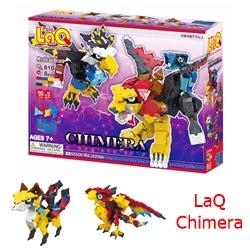 ตัวต่อ ลาคิว LaQ Chimera ชุดสัตว์ในเทพนิยาย ตัวต่อเสริมทักษะที่ผลิตในญี่ปุ่น