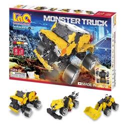 ตัวต่อลาคิว ชุด Monster Truck มีล้อ Middle Hamacron มีคู่มือสอนต่อเป็นยานยนต์ได้ 5 แบบ