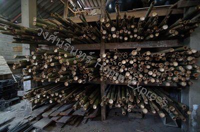 ไม้ไผ่ สำหรับทำนั่งร้าน
