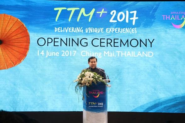 TTM+ 2017 โชว์ท่องเที่ยวไทยและลุ่มน้ำโขง