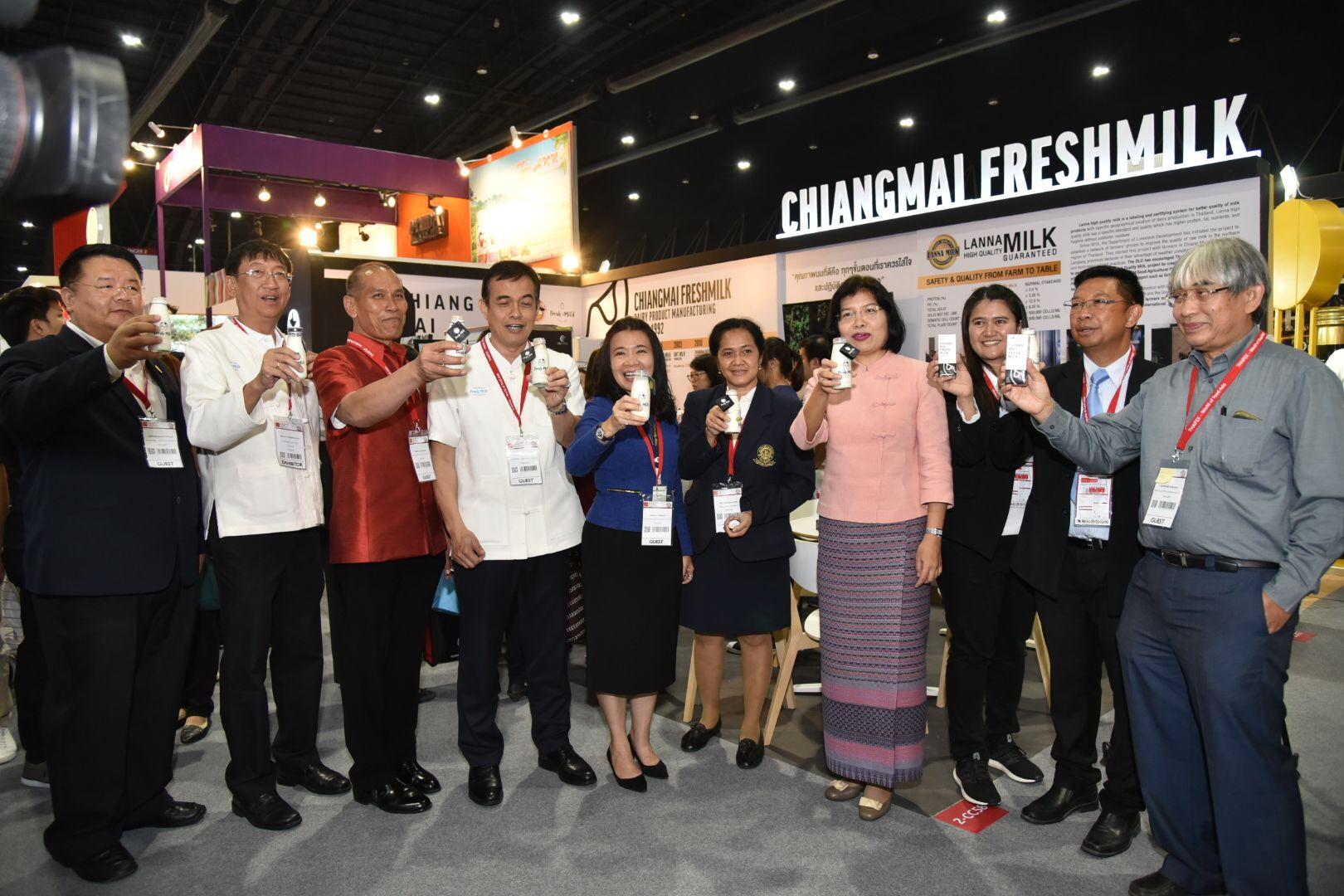 โอกาสโคนม-โคเนื้อไทย ในงาน THAIFEX – World of Food ASIA 2018