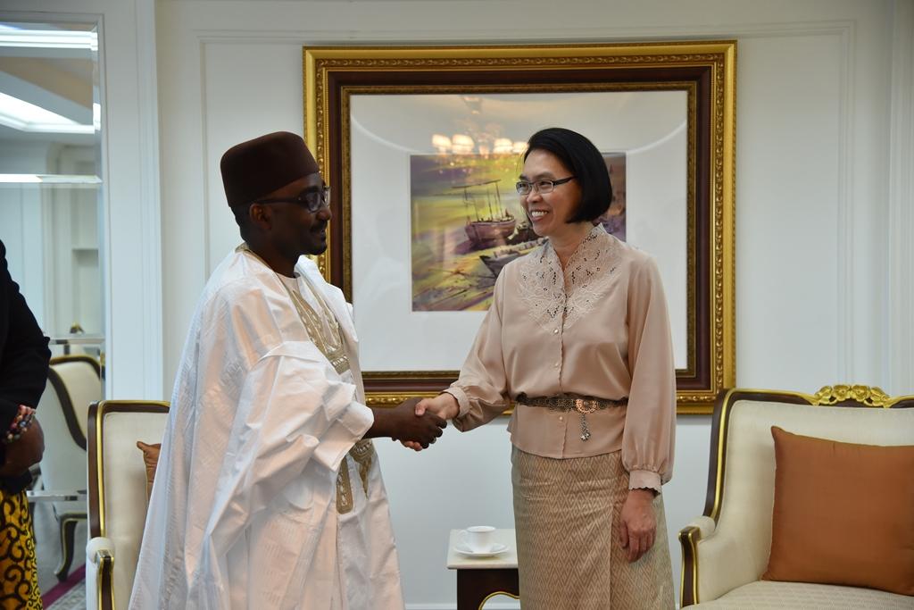 กระชับความสัมพันธ์ไนจีเรีย หวังฟื้นส่วนแบ่งตลาดข้าวในแอฟริกา