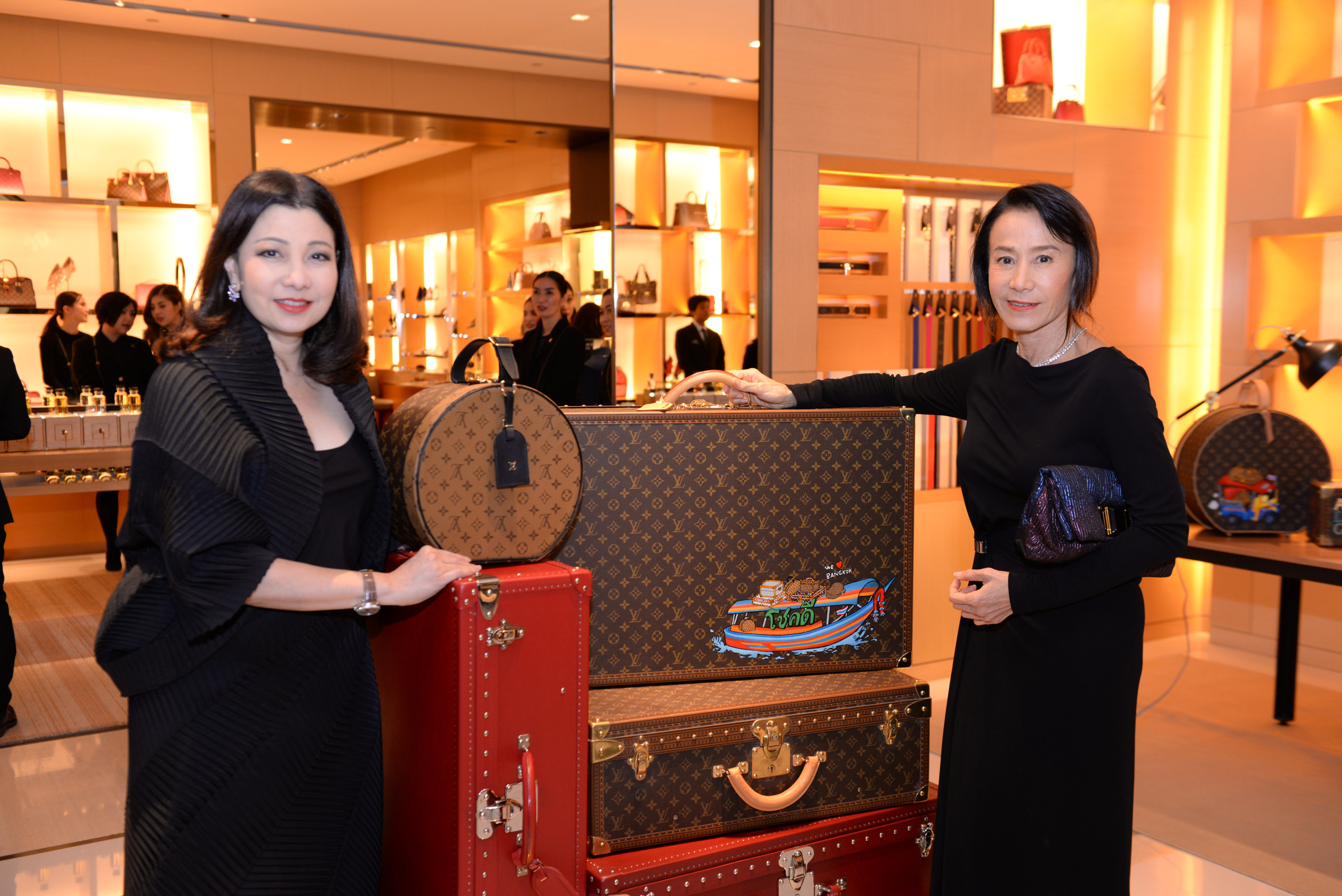 LOUIS VUITTON TIME CAPSULE BANGKOK EXHIBITION 2017