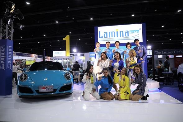 """ลามินา เปิดตัวแคมเปญ """"ความห่วงใยใกล้ตัวคุณ"""" ในงาน Motor Expo 2019"""
