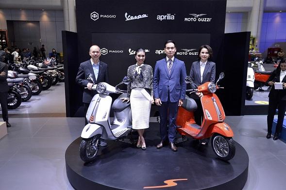 Vespa โชว์โมเดลใหม่ Primavera S Special Edition ในงาน Motor Expo 2019