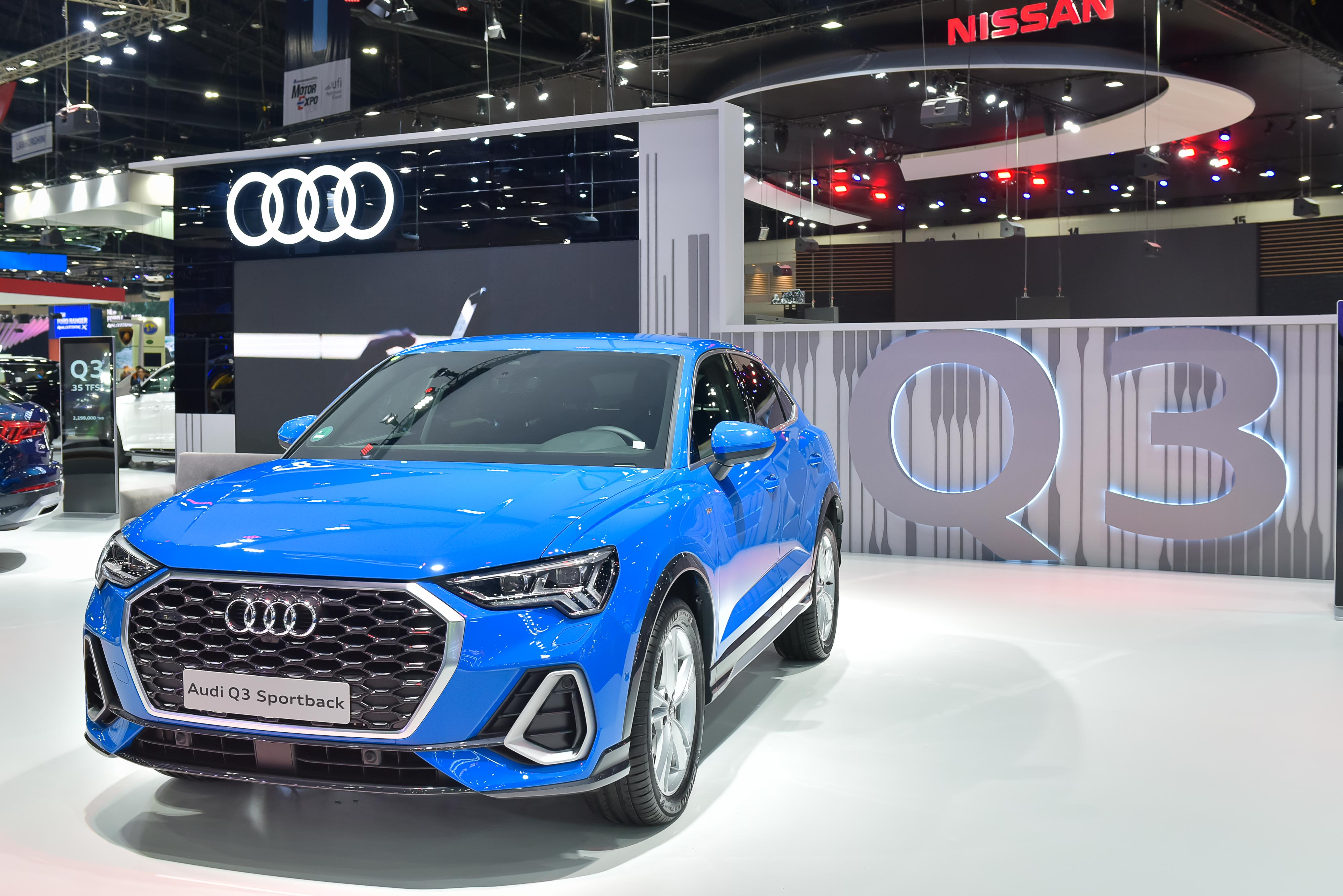 "Audi ในงาน Motor Expo 2019 ชู 4 รุ่นใหม่ สุดโดนใจ ""Q3"""