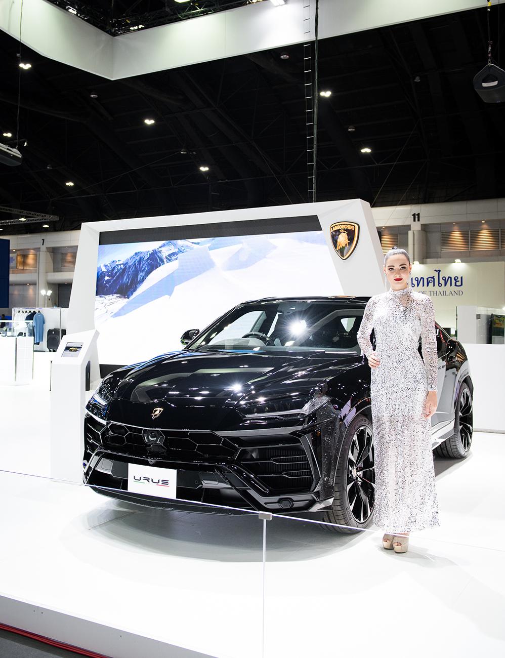 ลัมโบร์กินี อูรุส และ ฮูราแคน อีโว สไปเดอร์ ในงาน Motor Expo 2019