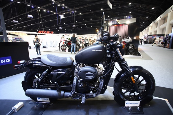 Hyosung จักรยานยนต์น้องใหม่เข้าร่วม Motor Expo 2019