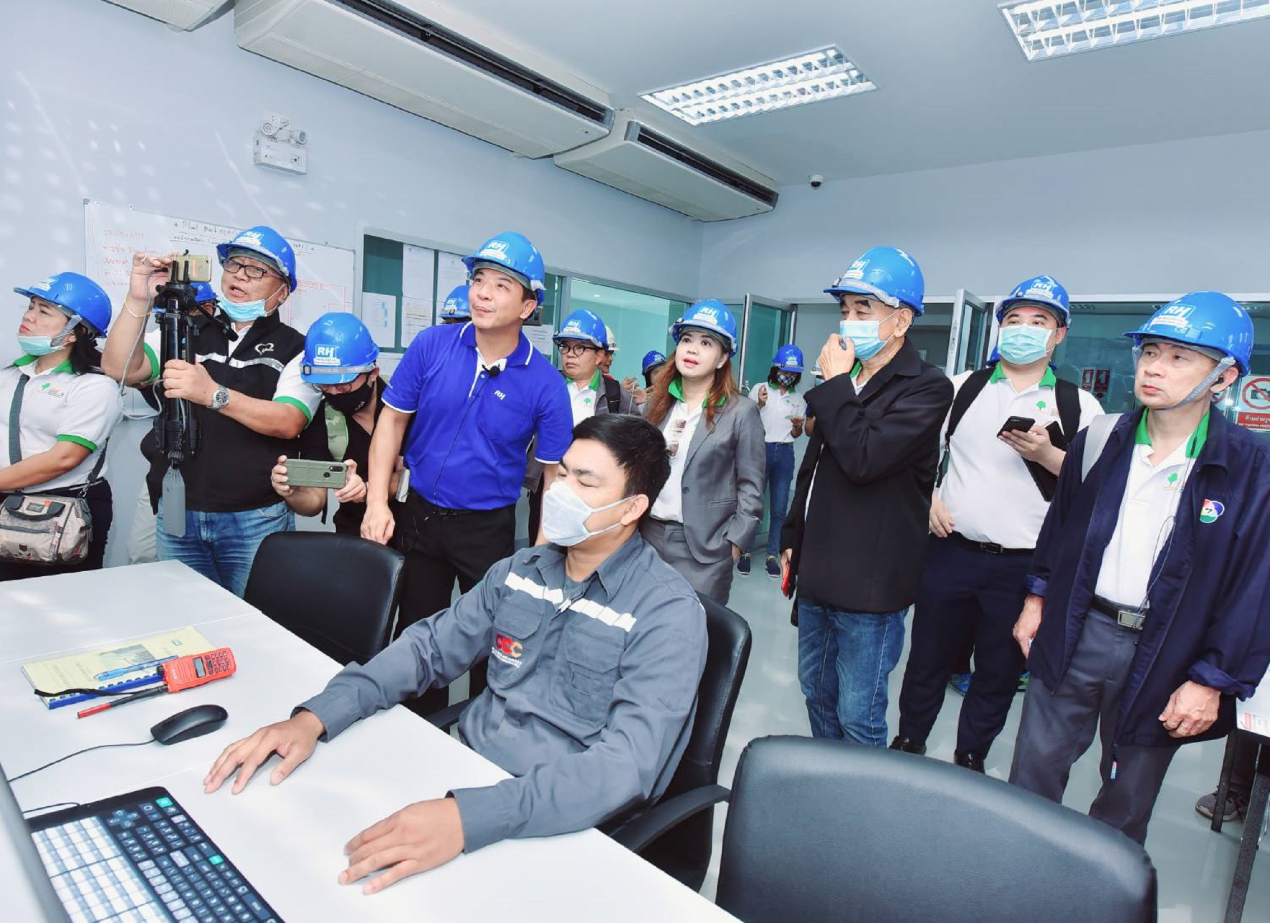 เครือข่ายสื่อมวลชนเยียมชมโรงไฟฟ้าเชื้อเพลิงขยะอุตสาหกรรม