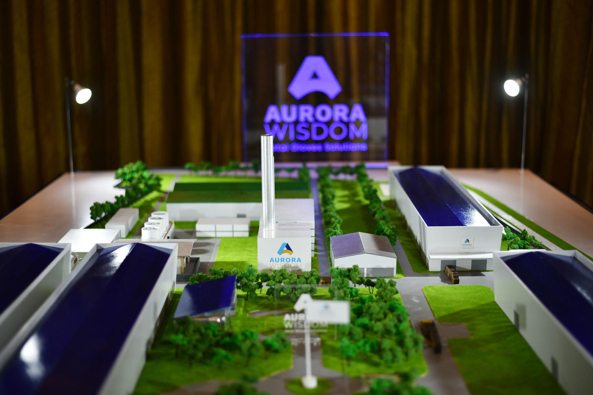 """""""ออโรร่า วิสดอม"""" ทุ่ม 3,000 ล้านบาท ผุดโรงงานผลิตถุงมือยางในไทย"""