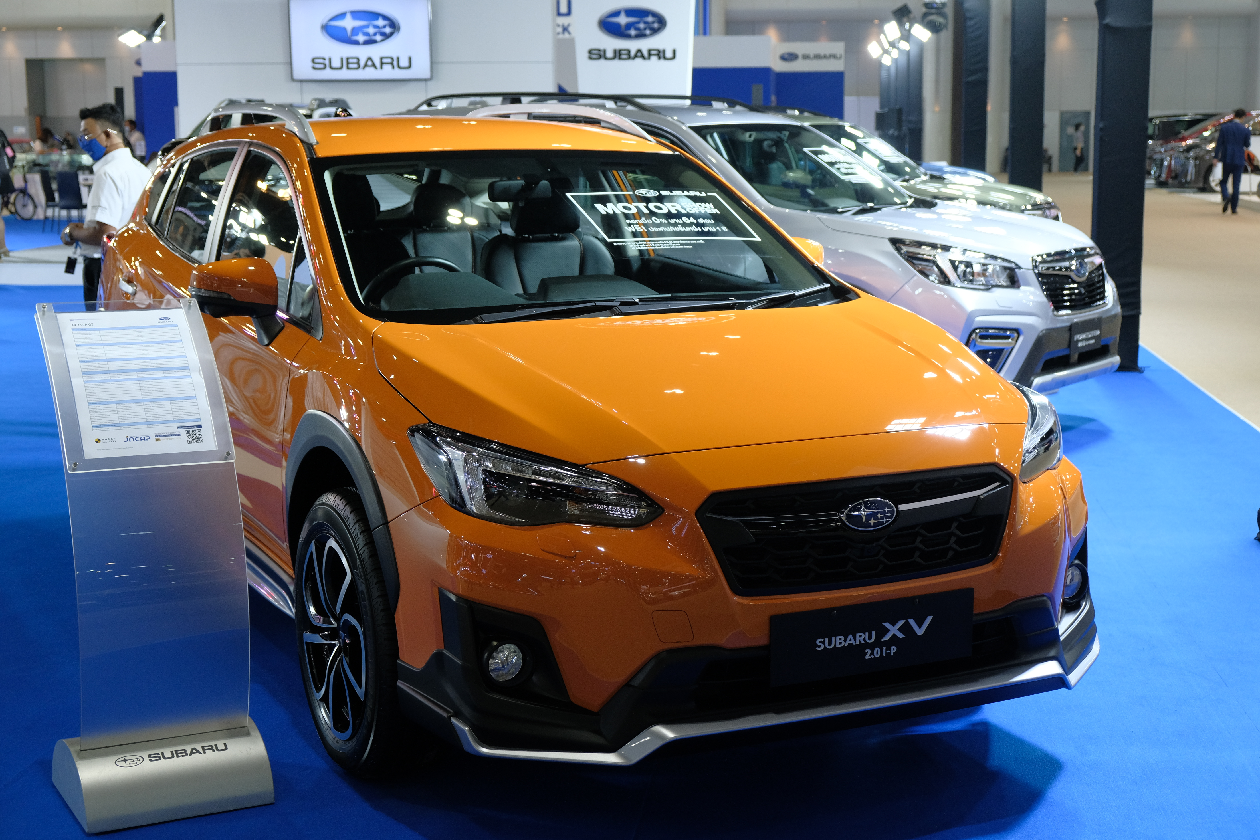 The All-New OUTBACK ปรากฏตัวครั้งแรกในอาเซียน