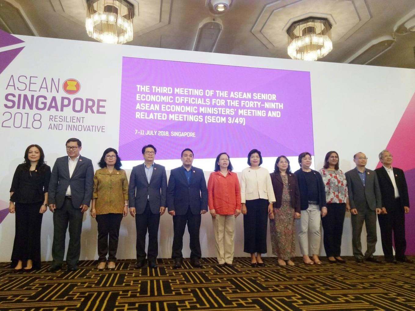 ประชุม SEOM ของอาเซียน ปิดจ๊อบความตกลง e-commerce ช่วย SMEs โต