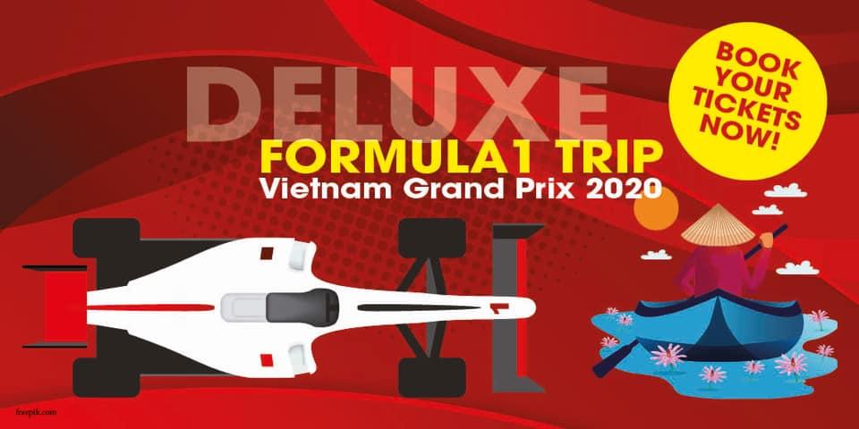 เปิดประสบการณ์สุดพิเศษ ชมการแข่งขัน Vietnam Grand Prix 2020 กับ Deluxe Formula1 TRIP