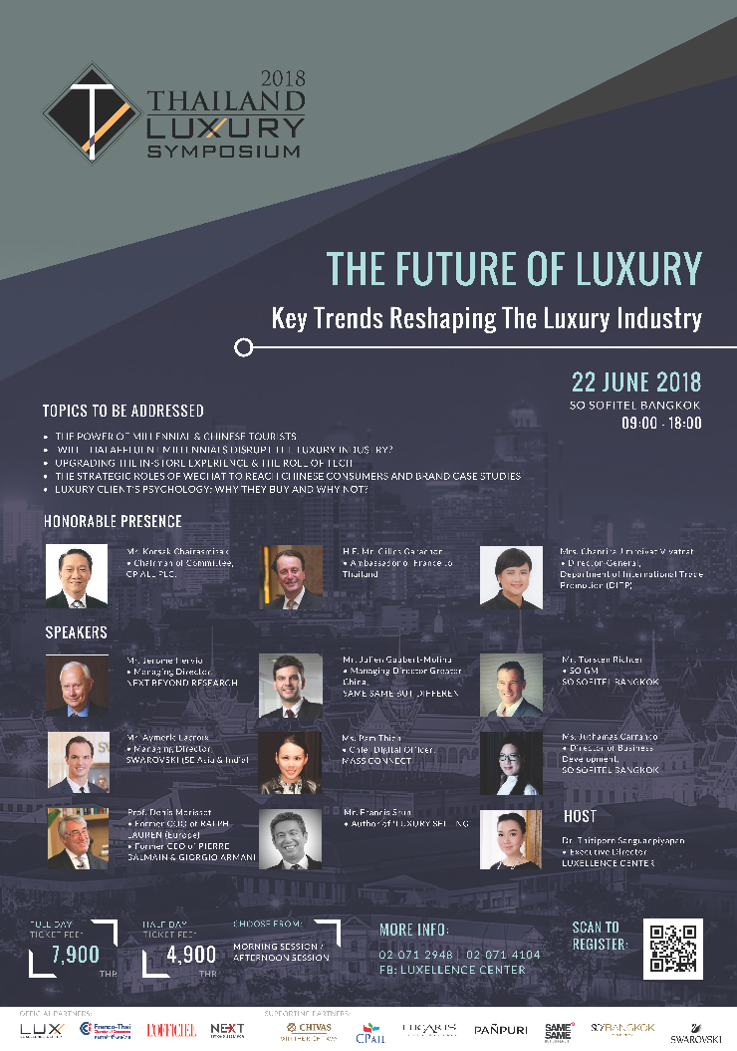 Thailand Luxury Symposium 2018