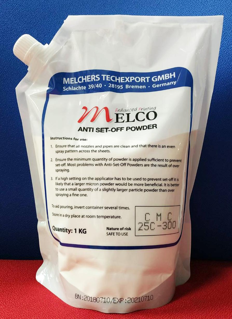 แป้งพ่น MELCO ขนาด 25 ไมครอน