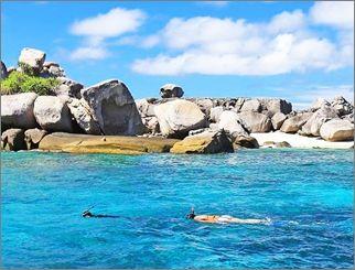 ทัวร์เกาะตาชัย + เกาะสิมิลัน โดยเรือเร็ว