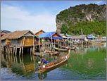 ทัวร์ภูเก็ต ทัวร์เกาะปันหยีหมูบ้านกลางน้ำ