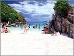 เกาะพีพี เกาะไข่ (เรือใหญ่)_ทัวร์เกาะพีพี+เกาะไข่_ โดยเรือใหญ่