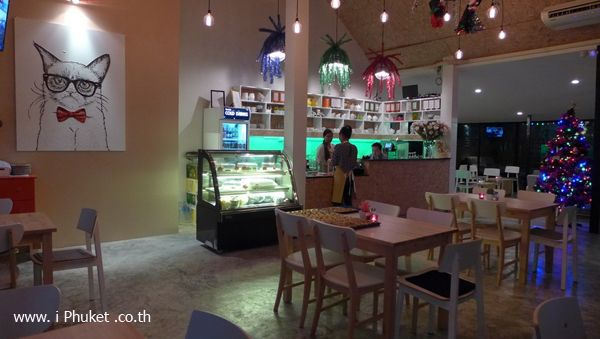 The Living Room Phuket ร้านกาแฟแห่งใหม่ในภูเก็ต