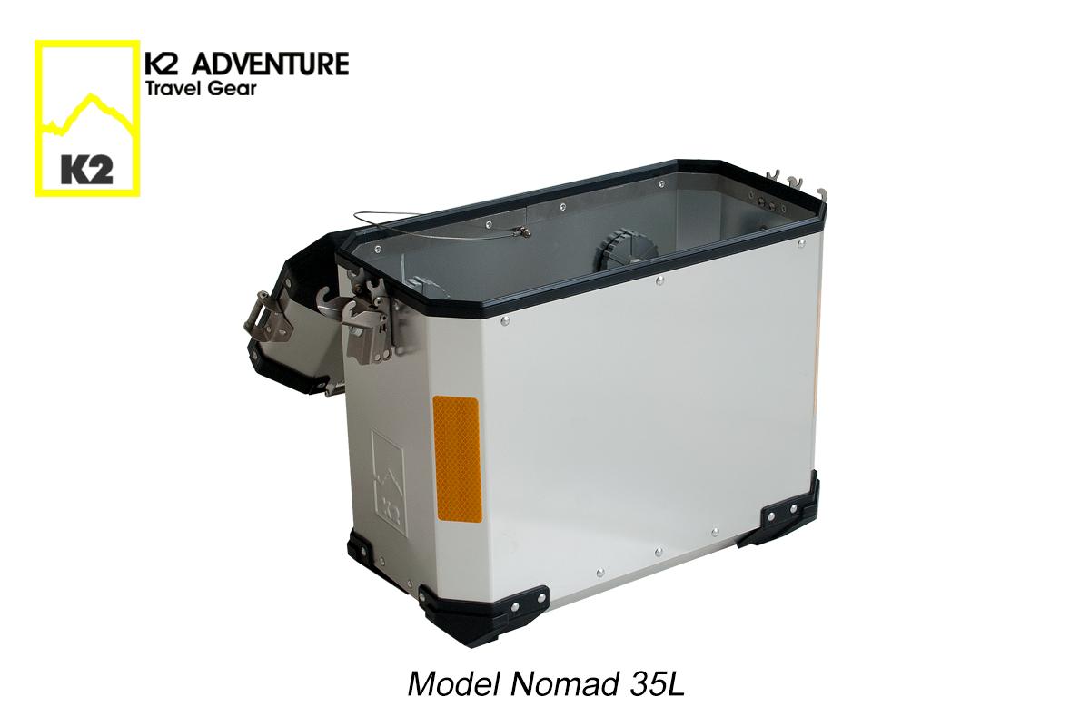 ปี๊บข้างมอเตอร์ไซค์ K2 Nomad