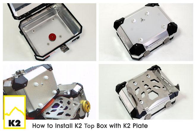 วิธีการติดปี๊บบน K2 เข้ากับเพลท